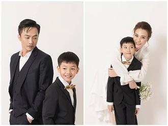 Cận ngày cưới, Cường Đô la và Đàm Thu Trang đồng loạt làm điều bất ngờ cho Subeo