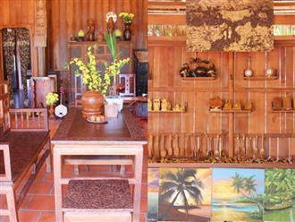 Căn nhà gần 6 tỷ đồng được làm từ 4.000 cây dừa của lão nông 80 tuổi gây ngỡ ngàng người dân miền Tây
