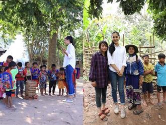 Câu chuyện bản Nịu giúp Hoa hậu Tiểu Vy vào top 5 phần thi nhân ái
