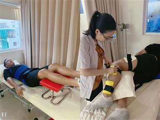 Châu Khải Phong bất ngờ nhập viện vì gặp chấn thương, ngã lệch đĩa đệm lưng khi đang quay MV