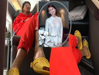Chỉ trích H'Hen Niê 'quê mùa lôm côm' vì đi dép tổ ong, vợ cũ Huy Khánh bị chửi tối tăm mặt mày