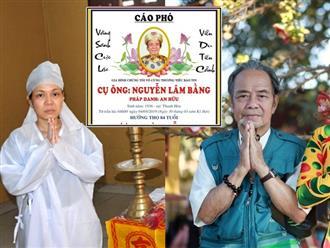 Chia sẻ bức ảnh chụp cùng ba, Việt Hương tâm sự nghẹn ngào sau khi ông qua đời