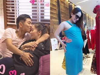 Chia sẻ khoảnh khắc được ông xã hôn ngọt ngào, Khánh Thi vô tình để lộ giới tính con thứ 2