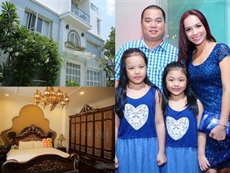 Choáng ngợp với cuộc sống sang chảnh trong căn biệt thự triệu đô của vợ chồng Thúy Hạnh - Minh Khang