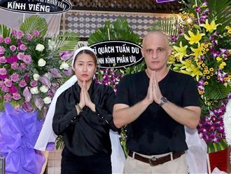Chồng cũ để lại tài sản giúp Phi Thanh Vân làm giàu bất ngờ xuất hiện ở tang lễ bố vợ