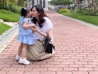 Chồng Đặng Thu Thảo khoe ảnh vợ cùng con gái, hành động nhỏ nhưng thể hiện tình yêu lớn với vợ con
