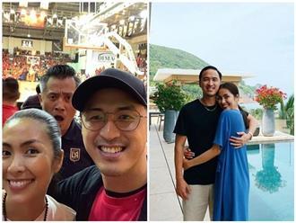 Chồng Tăng Thanh Hà đăng ảnh chụp cùng vợ, nhưng 'người thứ ba' phía sau mới là nhân vật thu hút sự chú ý