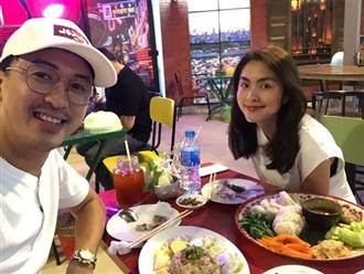 Lâu lắm mới 'trốn' 2 con đi hẹn hò, chồng Tăng Thanh Hà đăng ảnh ngọt ngào, khoe nhan sắc như gái 18 của vợ