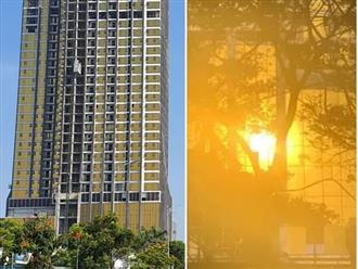 Chủ tịch Đà Nẵng yêu cầu xử lý sai phạm tại hai tòa nhà ốp kính vàng phản quang gây chói mắt