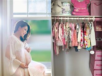 Chưa sinh, Thanh Thảo đã vội sắm váy áo cho con gái, nhìn tủ đồ mặc '2 năm không hết' mà choáng