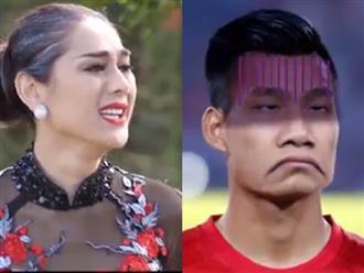 """Clip chế Lâm Khánh Chi nhận là vợ khiến Văn Thanh U23 """"méo mặt"""""""