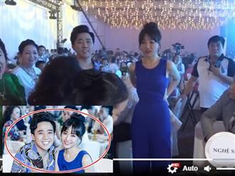 Clip: Thái độ khó chịu của Trấn Thành khi Hari Won bị đổ nước lên người tại tiệc sinh nhật Mr Đàm
