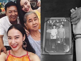 Có cháu gái giàu có và nổi tiếng nhưng bà ngoại 81 tuổi của Angela Phương Trinh vẫn tần tảo bán xôi và đây là lí do
