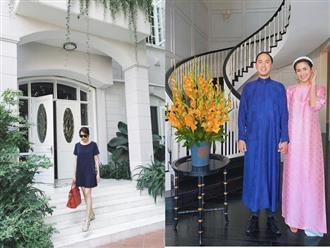 Có gì trong căn biệt thự của Hà Tăng và ông xã Louis Nguyễn?