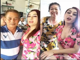 Con dâu bị chỉ trích vì mặc trễ nải 'khoe hàng', bố chồng Lâm Khánh Chi không cấm mà còn khuyến khích