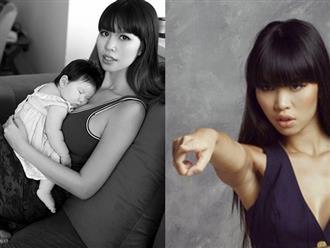 Con gái mới sinh bị xúc xiểm chậm phát triển, Hà Anh nổi giận đăng đàn dằn mặt