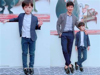 Khó thể ngờ con trai đầu nhà Lý Hải - Minh Hà cao lớn, đẹp trai như thế này đây