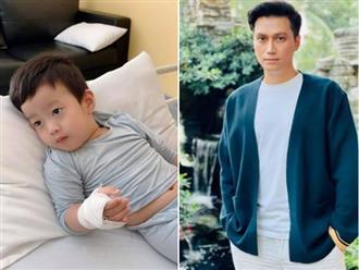 Việt Anh sợ hãi nửa đêm ôm con chạy 3 bệnh viện, tiết lộ tình trạng sức khỏe của con trai