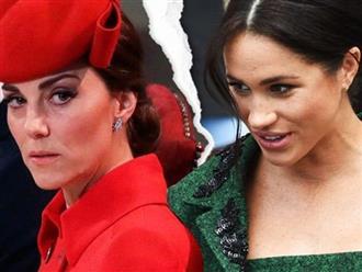 """Công nương Kate quyết không """"xuống nước"""" làm lành với Meghan Markle sau loạt mâu thuẫn vì thái độ khó chấp nhận của em dâu"""