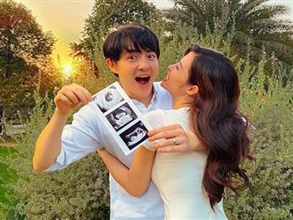 Cuối cùng Đông Nhi cũng chịu xác nhận đang mang thai con đầu lòng với Ông Cao Thắng sau 5 tháng cưới