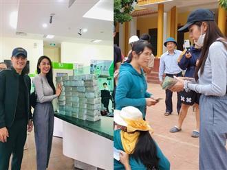 Cuối cùng Thủy Tiên cũng lên tiếng về vụ cán bộ thôn thu lại 400 triệu tiền cứu trợ, sự thật việc bà con chê bánh chưng