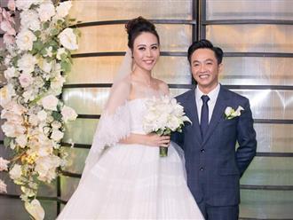 Cường Đô La cảm ơn mẹ vợ, Đàm Thu Trang tâm sự về mẹ chồng tại hôn lễ