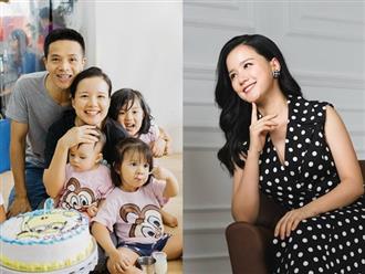 """Cựu MC VTV Minh Trang hé lộ vợ chồng """"suýt đánh nhau"""" vì lý do này"""