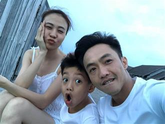 """Đàm Thu Trang """"đào"""" lại loạt ảnh du lịch với Subeo, Cường Đô La bình luận 1 câu là biết cưng ái nữ mới sinh thế nào"""