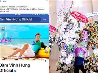Đàm Vĩnh Hưng tuyên bố tạm 'đóng cửa' facebook cá nhân
