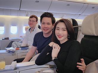 Đăng ảnh du hí đầu năm, vợ chồng Đặng Thu Thảo lại bị người đàn ông điển trai này chiếm trọn sự chú ý