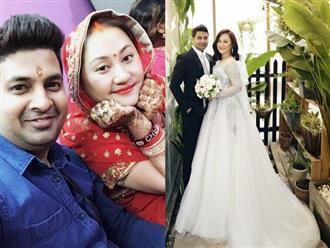 Diễn viên Ngọc Xuân đã lên xe hoa với chồng doanh nhân Ấn Độ