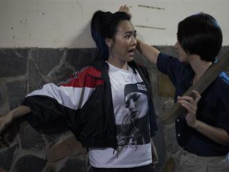 Diệu Nhi khóc thét khi Thu Trang 'tung chưởng'