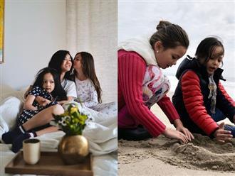 Diva Hồng Nhung đón tuổi 50 bình dị bên cặp song sinh, bất ngờ với diện mạo của 2 bé