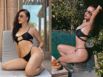 DJ Tít khoe vóc dáng bốc lửa khi mặc bikini