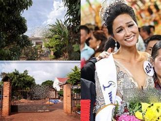 Độc quyền: Cận cảnh nhà tân Hoa hậu Hoàn vũ Việt Nam H'Hen Niê tại Đắk Lắk