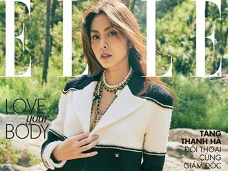 """Đợi mãi Hà Tăng mới đăng hình tạp chí hiếm hoi: Mẹ 2 con mà nhan sắc - thần thái đỉnh cao, mê """"ngọc nữ"""" Vbiz quá!"""