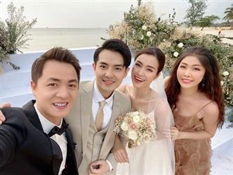 """Đông Nhi bật khóc tại hôn lễ: """"Ngày hôm nay, em chính thức gọi anh là chồng!"""""""