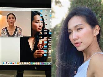 Tâm sự đẫm nước mắt của Kim Hiền sau 100 ngày mẹ ruột qua đời, nấc nghẹn gọi 'mẹ ơi' gây xót xa
