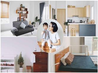 Dù là căn hộ đi thuê nhưng đôi vợ chồng yêu thích sống tự do ở Sài Gòn đã thiết kế nội thất theo phong cách tối giản vô cùng hợp lý lại tiết kiệm