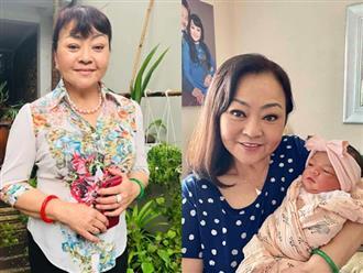 Được lên chức bà nội ở tuổi 64, danh ca Hương Lan khoe cháu gái lai Tây xinh như thiên thần