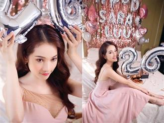 Dương Khắc Linh tự tay trang trí tiệc sinh nhật, ngọt ngào gửi lời chúc cực tình đến bạn gái