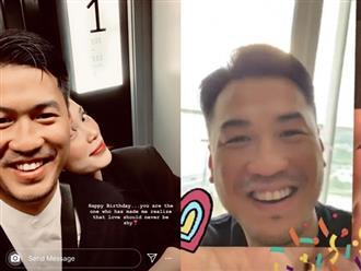 """Em chồng Hà Tăng - Phillip Nguyễn công khai thể hiện tình yêu với bạn gái: """"Em là người khiến anh nhận ra khi yêu đừng nên nhút nhát"""""""