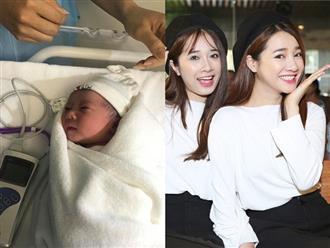 Em gái Nhã Phương sinh con sau 5 tháng kết hôn, lộ diện mạo em bé xinh như thiên thần