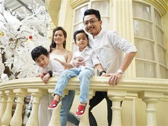 Giữa showbiz thị phi, gia đình Lâm Vỹ Dạ - Hứa Minh Đạt như một ốc đảo bình yên đáng ngưỡng mộ
