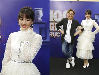 Giữa tin đồn mang thai, Hari Won vẫn miệt mài chạy show