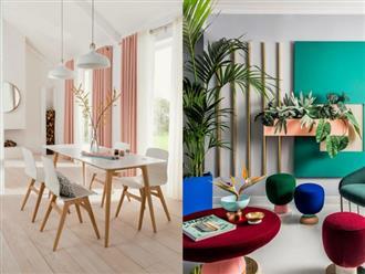 Gom những ý tưởng đắt giá mang màu sắc vào không gian sống dịp năm mới