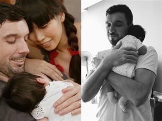 Hà Anh 'bóc trần' cuộc sống thật với chồng Tây sau sinh con