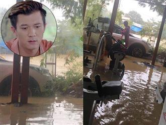 Đà Nẵng ngập nặng, diễn viên Hà Việt Dũng kêu trời vì cơ ngơi 400m2 chìm trong biển nước
