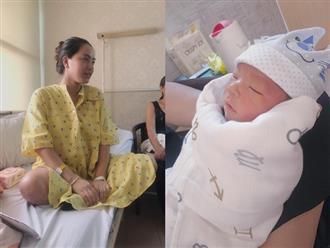 Hải Băng đẻ con trai, bà xã Lê Hoàng (The Men) trả nợ cá cược ngay 100 triệu đồng