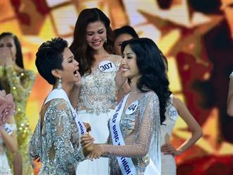 Hành động đầu tiên của H'Hen Niê sau khi đăng quang Hoa hậu Hoàn vũ Việt Nam khiến nhiều người ngỡ ngàng